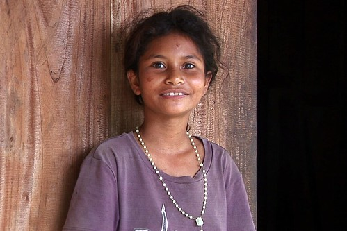 Indonesia - Flores - Traditional Village Bena - Young Lady - 64