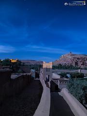 At Benhaddou in moonlight (dieLeuchtturms) Tags: vertical night dessert nacht morocco maroc atlas afrika moonlight wadi marokko ksar wste starsky kasbah 3x4 vertikal sternenhimmel mondlicht atbenhaddou hochformat starrysky hoheratlas soussmassadra lunarlight soussmassadra