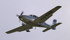 Cirrus SR22 Turbo HB-KHR Lee on Solent Airfield 2014 (SupaSmokey) Tags: turbo lee solent cirrus airfield sr22 2014 hbkhr
