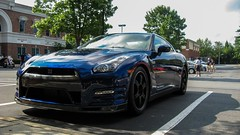 Nissan GT-R Track Edition (NitsudustiN) Tags: blue lake cars coffee track nissan july norman cornelius 12th edition gtr 2014
