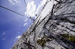 Salendo sulla Marmolada (rafpas82) Tags: montagne italia neve alpi trentino dolomiti monti marmolada valdifassa d7000 giugno2014 passofedia bidomvia