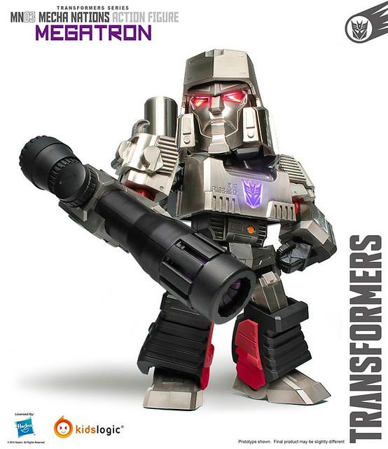 【追加新圖】Kids Logic Mecha Nations MN03: 變型金剛 密卡登