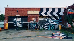 Bartlett Yard (mlee525) Tags: streetart abandoned boston graffiti rosaparks dudleysquare bartlettyard roxyburycrossing bartlettbusyard