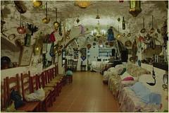 Sacromonte - Interior de la cueva - Εσωτερικό μιας σπηλιάς