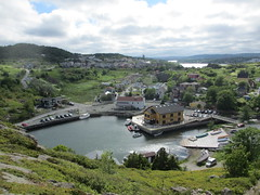 Quidi Vidi harbor and lake from above, Newfoundland (Paul McClure DC) Tags: canada newfoundland scenery stjohns quidividi july2014