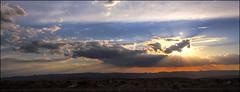 Setting Sun - Page, Arizona (helikesto-rec) Tags: sunset arizona sky clouds page