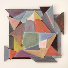 Variations on three squares (Justin Barrie Kelly) Tags: sculpture abstract art geometric triangles painting abstractart modernart multicoloured abstraction geometrical multicolored sculptural painteffect oilpainting plywood constructivist tangram triangular destijl constructivism wallrelief lowrelief concreteart geometricart sculpturalrelief geometricalart oilonboard scumble justinkelly geometricabstraction konkretekunst destyle justinbkelly justinbarriekelly justinbarrie konstructivismus