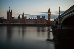 Big Stopper at Parliament (Olly Plumstead) Tags: houses london thames canon landscape big long exposure cityscape ben smooth parliament filter lee olly silky stopper plumstead 5dmarkii 5d2
