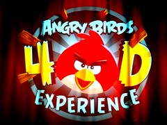 Angry Birds 4-D (ThemeParkMedia) Tags: park uk cinema game film birds fun thorpe merlin angry 4d attraction damily