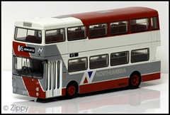 Next For Butchery! (Zippy's Revenge) Tags: bus model northumbria efe daimler leyland fleetline diecast code3 oogauge northerncounties lancashireunited ncme exclusivefirsteditions 176thscale ptd639s