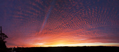 Rainbow Skies || Blue Mountains (edwinemmerick) Tags: sunset sky panorama cloud silhouette canon stitch linden australia dos nsw 7d newsouthwales edwin emmerick edwinemmerick