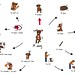 Dog vocabulary map