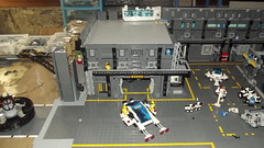 Extérieur base. (ced12110) Tags: lego space futuron moc base