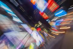 I Love New York (#pixelana) Tags: nyc newyork newyorkcity timessquare citylights citynights shutterspeed lighttrails colors wicked elphaba glinda taxis lights motion