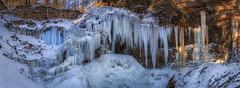 Tiffany Falls (hey its k) Tags: hamilton ice tiffanyfalls waterfalls winter img3089pano canon6d ontario canada ca