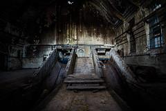 Stairs (Bast - Art) Tags: urbex lost waterworks pumpwerk schleusenauf industrie industrieruine bastart lostplaces verlassen canon abandoned verlasseneorte zerfall urbanexploration leerstehend urbanexplorer vandalensindidioten stairs treppe