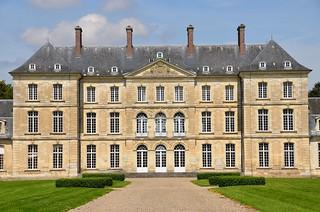Bertangles (Somme) - Château de Clermont-Tonnerre (explore 05-03-17)