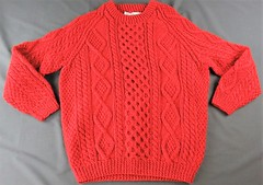 Irish aran fisherman wool sweater (Mytwist) Tags: payless4namebrandclothing shab hag hand knit wooven tweeds mens christmas fishermen sweater red wool hot aran jumper irish fisherman style fashion retro thick timeless heritage exclusive handgestrickt handknitted handcraft honeycomb fetish fuzzy grobstrick dublin sexy cabled craft classic crewneck cables modern