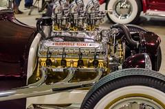 Oldsmobile Rocket (GmanViz) Tags: gmanviz color car automobile detail custom nikon d7000 1927 ford modelt hotrod oldsmobile rocket v8 engine chrome