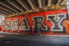 4/30 Scary in Shoreditch (Alex Chilli) Tags: scary shoreditch streetart grafitti hoxton eastlondon london aprilphotoaday april 2017