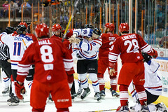 "Missouri Mavericks vs. Allen Americans, March 3, 2017, Silverstein Eye Centers Arena, Independence, Missouri.  Photo: John Howe / Howe Creative Photography • <a style=""font-size:0.8em;"" href=""http://www.flickr.com/photos/134016632@N02/33117916642/"" target=""_blank"">View on Flickr</a>"