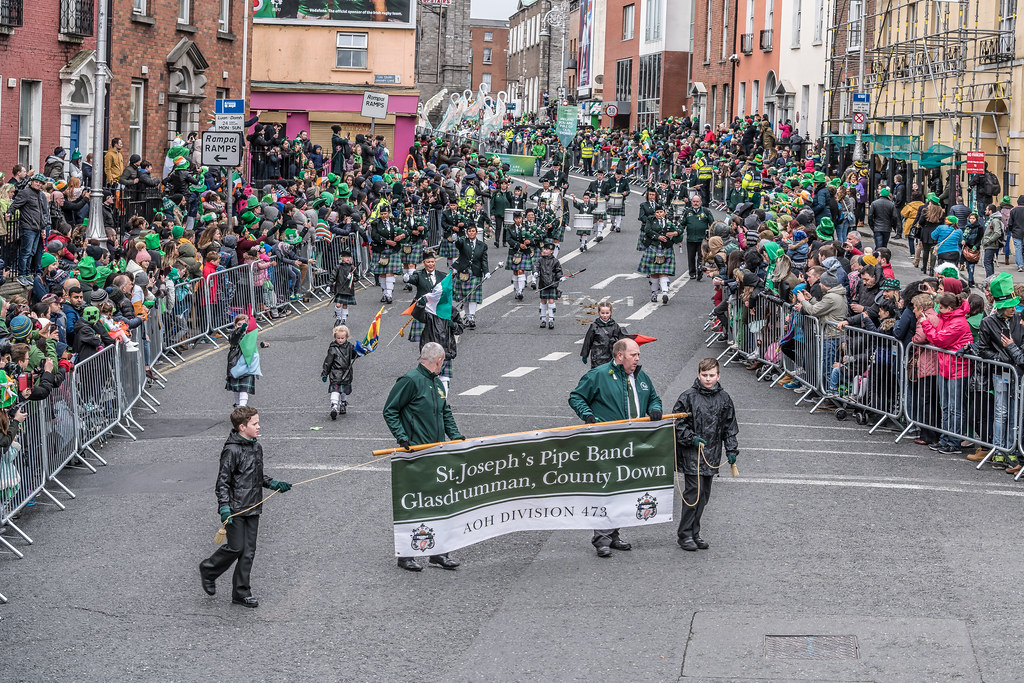 St. Joseph's Pipe Band From Glasdrumma [St. Patricks Day Parade 2017]-125891