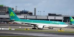 EI-EWR AIRBUS A330-202 (douglasbuick) Tags: aircraft airbus a330202 eiewr aer lingus jet plane taxiing dublin airport ireland irish aviation flickr airliner airlines airways nikon d40