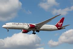 G-VNEW (Daniel Hobbs | Spot2Log) Tags: heathrow airport heathrowairport egll lhr aviation airplane aircraft virginatlantic virgin boeing dreamliner
