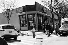 "Crossing (Santos ""Grim Santo"" Gonzalez) Tags: fttt instagram crossing queens ny 2017 streetphotographer nycstreets newyorkcity newyorknewyork myfujifilm fujifilm picoftheday subway mta storyofthestreet nyspc gothamist citylife sooc heartofqueens grimsanto nyc urbanphoto quietmoments streetphotography nyclife flickr canpubphtoto urbanphotography monochrome"