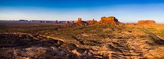Monument Valley Aerial (Daxis) Tags: desert highway163 monumentvalley southwest summer sunrise unitedstates usa utah aerial drone