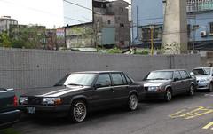 Volvo 940 x2 (rvandermaar) Tags: volvo 940 volvo940 taiwan rvdm