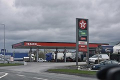 Texaco, Blueball County Offaly. (EYBusman) Tags: texaco petrol gas gasoline filling service station garage blue ball county offaly eire republic ireland spar eybusman