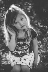 Portrait of a girl (austinsGG) Tags: girl portrait bw freelensed rimlight