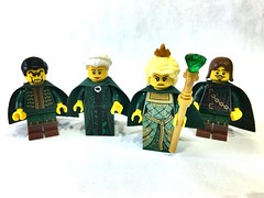 "Castle Figs - ""The Emerald Queen and her Court"" • <a style=""font-size:0.8em;"" href=""https://www.flickr.com/photos/63566512@N03/33389631976/"" target=""_blank"">View on Flickr</a>"