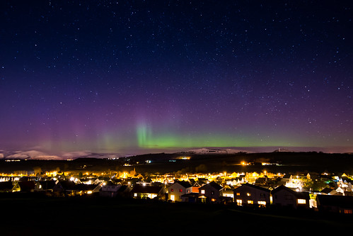 aurora lights night stars sky snow hills nikond7200 tokina1116 scotland fife astro northern uk long exposure