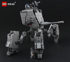 AT-MAW (DeadGlitch71) Tags: photography lego starwars atmaw atst space mech mecha imperial army tank artillery scifi scfi allterrain walker foitsop