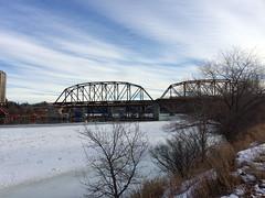 New Traffic Bridge 2 (daryl_mitchell) Tags: saskatoon saskatchewan canada winter 2017 traffice bridge new construction