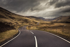 Road to the Cairnwell (Neillwphoto) Tags: glen shee cairnwell pass road hills clouds scotland