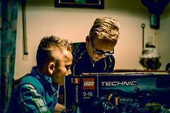 Lego - Time (relaxedhothead) Tags: apsc fuji xe2 jpeg lightroom photoshop raw christmas weihnachten personen porträt neffen nephews lego technic