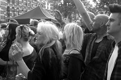 Beer, Guts, Gals and Banjos... (Eddy Allart) Tags: blue grass festival rotterdam noord pijnackerplein smoking women
