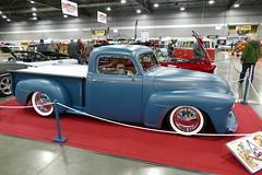 1948 Chevrolet 3100 Custom (bballchico) Tags: 1948 chevrolet 3100 custom pickuptruck chopped sectioned lowered ronbeard loisbeard portlandroadstershow prs2017 carshow