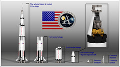 LEGO Ideas Saturn V (hello_bricks) Tags: lego ideas saturn v saturnv fusee rocket