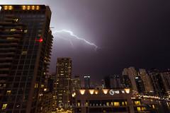 DSC_4391-2 (danieleeffe1) Tags: dubaimarina thunder night clouds skyscrapers buildings lights uae arabian nikon d7100 tokina 1116 water black nuvole cielo nero palazzi grattacieli notte luci strada fulmini saette