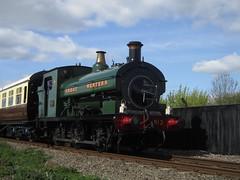 IMG_4777 - GWR Hudswell Clarke Saddle Tank 813 (SVREnthusiast) Tags: didcotrailwaycentre didcot railway centre gwrhudswellclarkesaddletank813 gwr hudswellclarke saddletank 813