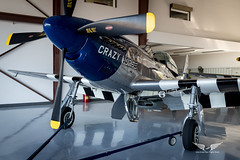 P-51D Mustang (gc232) Tags: p51 p51d tf51d mustang taildragger tailwheel tail wheel airplane plane aircraft world war 2 ww2 ii fighter fight dogfight fly live from flight deck propeller prop wing close up samyang 20mm f18 sigma 35mm f14 canon 6d p51mustang aviation avgeek spotting planes airplanes airport shallow depth field bokeh closeup