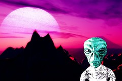 Aliens Sent Secret Messages from Exploding Stars (malikbock) Tags: aliens et extraterrestrial life messages outerspace secret space topsecret ufo