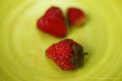 Wild Strawberries (Giodinu) Tags: canon50mmf18stm extensiontubes speedlite430exiidiffuser umbrella red green strawberries food closeup macro cibo