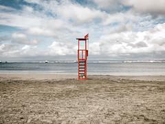 Lifeguard Station (FabrizioPastore81) Tags: mare sea cielo sky nuvole clouds spiaggia beach lifeguard taranto puglia apulia italia italy landscape paesaggio travel nature calm relax