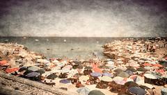Sold out! (vittorio.chiampan) Tags: sea fineart beach umbrellas summer holiday landscape