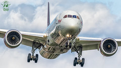 Virgin Atlantic B787 (Green 14 Pictures) Tags: aviation avporn avgeek airplane airport aircraft air airline airlines airfield airways egll lhr london heathrow gb uk unitedkingdom greatbritain virginatlantic vir vs boeing 787 7879 boeing787 gvahh dreamgirl